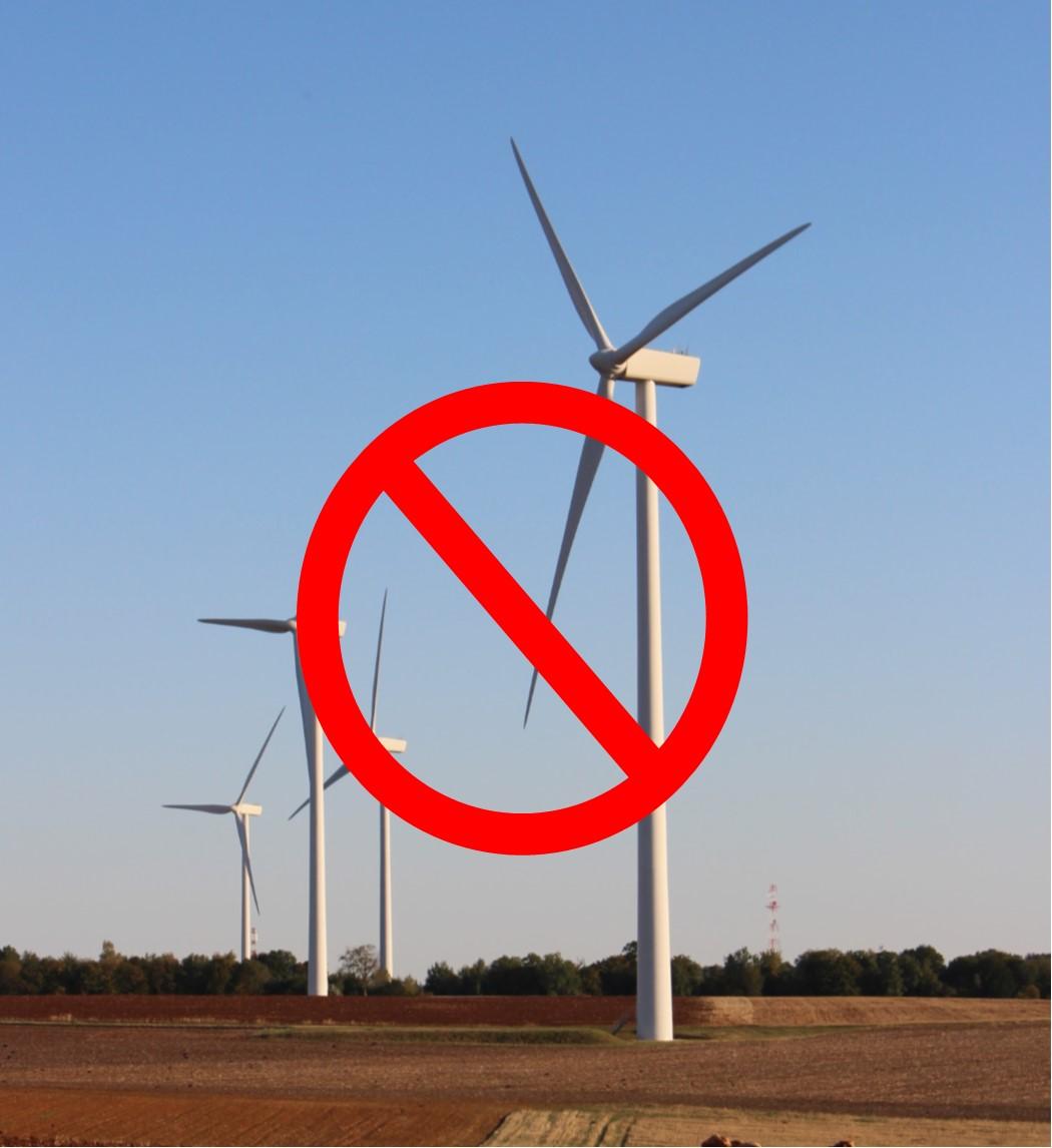 Refus du projet éolien